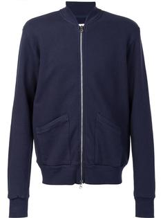 куртка бомбер с накладными карманами 321