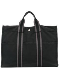холщовая сумка-тоут Hermès Vintage