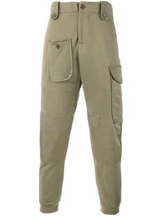 спортивные штаны в военном стиле Alexander McQueen