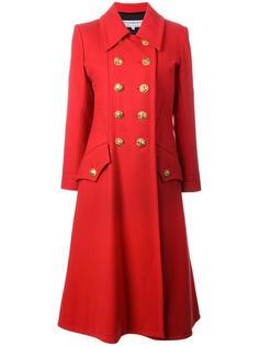 пальто в стиле милитари Yves Saint Laurent Vintage