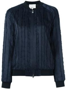 куртка-бомбер с бахромой 3.1 Phillip Lim