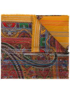 платок с узором пейсли Yves Saint Laurent Vintage