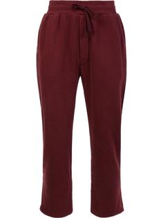 спортивные брюки с эластичным поясом 321