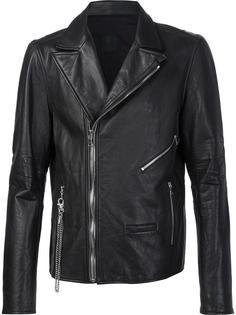 байкерская куртка с молниями Rta