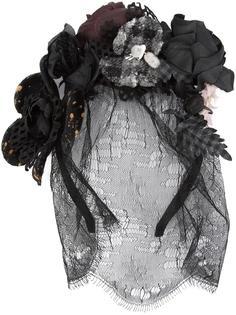 ободок для волос с розами Maison Michel