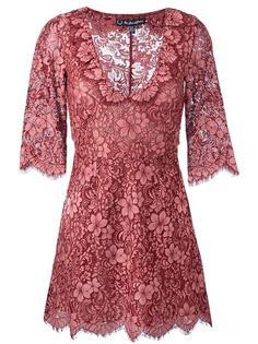 кружевное платье с цветочным узором For Love And Lemons