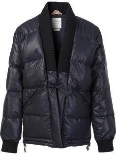 дутая куртка с V-образным вырезом Visvim