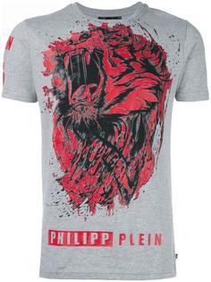 футболка 'Lion Roar' Philipp Plein