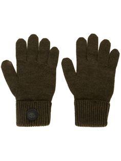 перчатки с канадской эмблемой Dsquared2