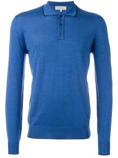 рубашка-поло с длинными рукавами Salvatore Ferragamo