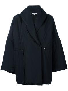 объемное двубортное пальто Iro