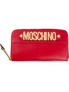 кошелёк с логотипом Moschino