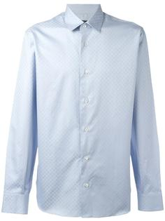 рубашка с узором Salvatore Ferragamo