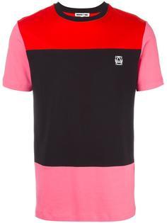 футболка дизайна колор-блок McQ Alexander McQueen
