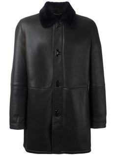 пальто с застежкой 'Gancio' Salvatore Ferragamo