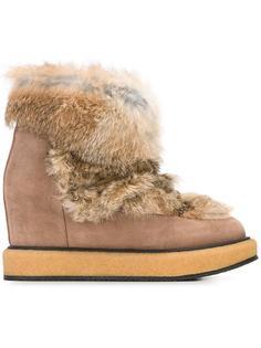 ботинки с кроличьим мехом Paloma Barceló