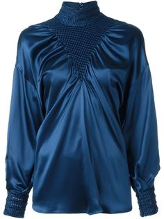 блузка с пышными рукавами  Fendi