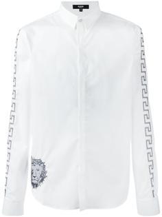 рубашка с вышивкой Versus