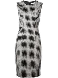 облегающее платье с узором Max Mara