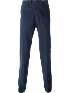 брюки прямого кроя Salvatore Ferragamo