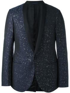 пиджак с лацканами-шалька и вышивкой Lanvin