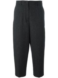 укороченные полосатые брюки Alberto Biani