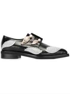 декорированные туфли Coliac