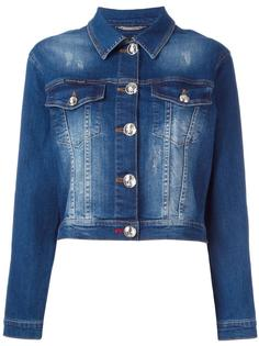 декорированная джинсовая куртка Philipp Plein
