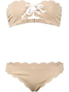 'Antibes Strapless Top & Tie Bottom' bikini Marysia