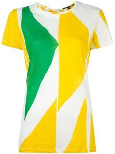 футболка с геометрическим принтом Proenza Schouler