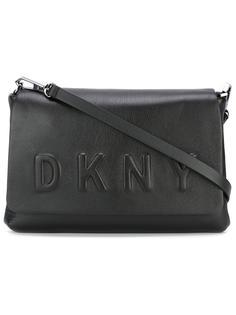 сумка через плечо с тисненым логотипом DKNY