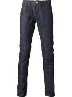 джинсы кроя слим 'M5 Raw'  3X1