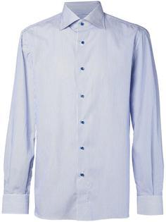 рубашка в полоску Isaia