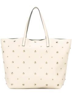 сумка-шоппер с заклепками Red Valentino
