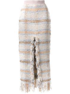 твидовая юбка с высокой талией Lalo