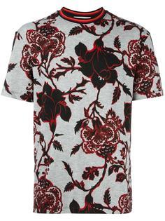 футболка с цветочным узором McQ Alexander McQueen