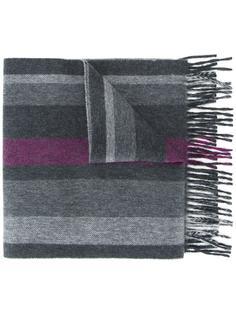 шарф в полоску Kent & Curwen