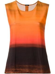 gradient effect top Osklen