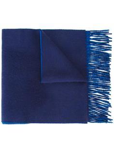 шарф с бахромой Kent & Curwen