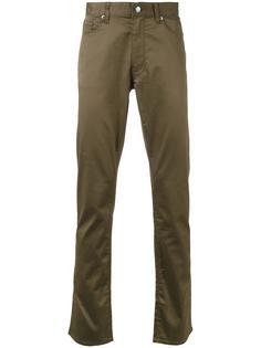 брюки прямого кроя Kent & Curwen