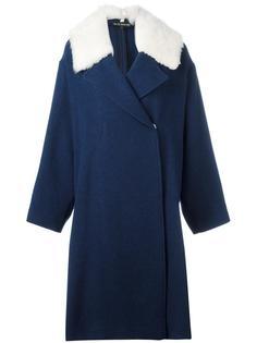 пальто с контрастными лацканами Ter Et Bantine