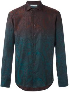 рубашка с узором и эффектом градиент Etro
