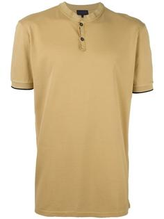 футболка-поло без воротника Lanvin