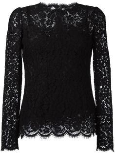кружевная блузка Dolce & Gabbana