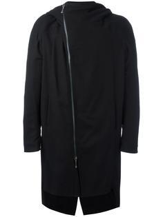 пальто со смещенной застежкой Masnada