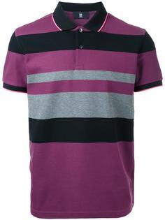 футболка-поло в полоску Kent & Curwen