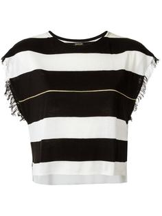 striped top Osklen