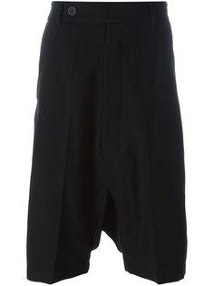 шорты с заниженной шаговой линией   Rick Owens