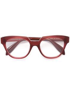 """очки с оправой """"кошачий глаз"""" Alexander McQueen"""
