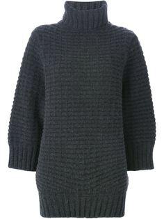свитер толстой вязки с отворотной горловиной Kristensen Du Nord